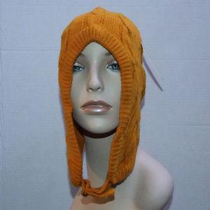 Michael Kors Cable knit Unisex Winter Pilot Hat OS